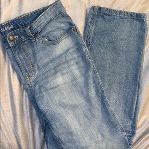 2/$8 boy's Cat & Jack straight jeans
